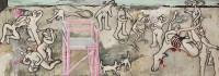 Saligia. The seven deadly sins. Die sieben Todsünden. Hieronymus Bosch. Giotto.